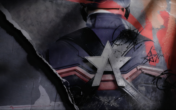 TV Show The Falcon and the Winter Soldier John Walker Captain America HD Wallpaper | Background Image