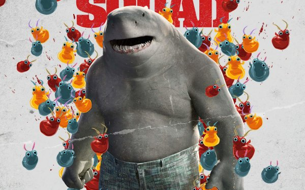 Movie The Suicide Squad King Shark HD Wallpaper | Background Image