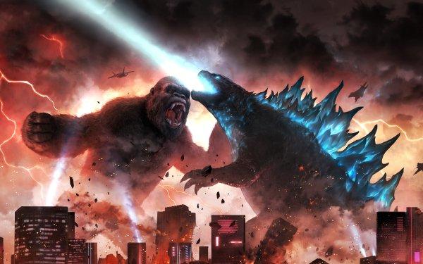 Movie Godzilla vs Kong Godzilla vs. Kong King Kong Godzilla HD Wallpaper | Background Image