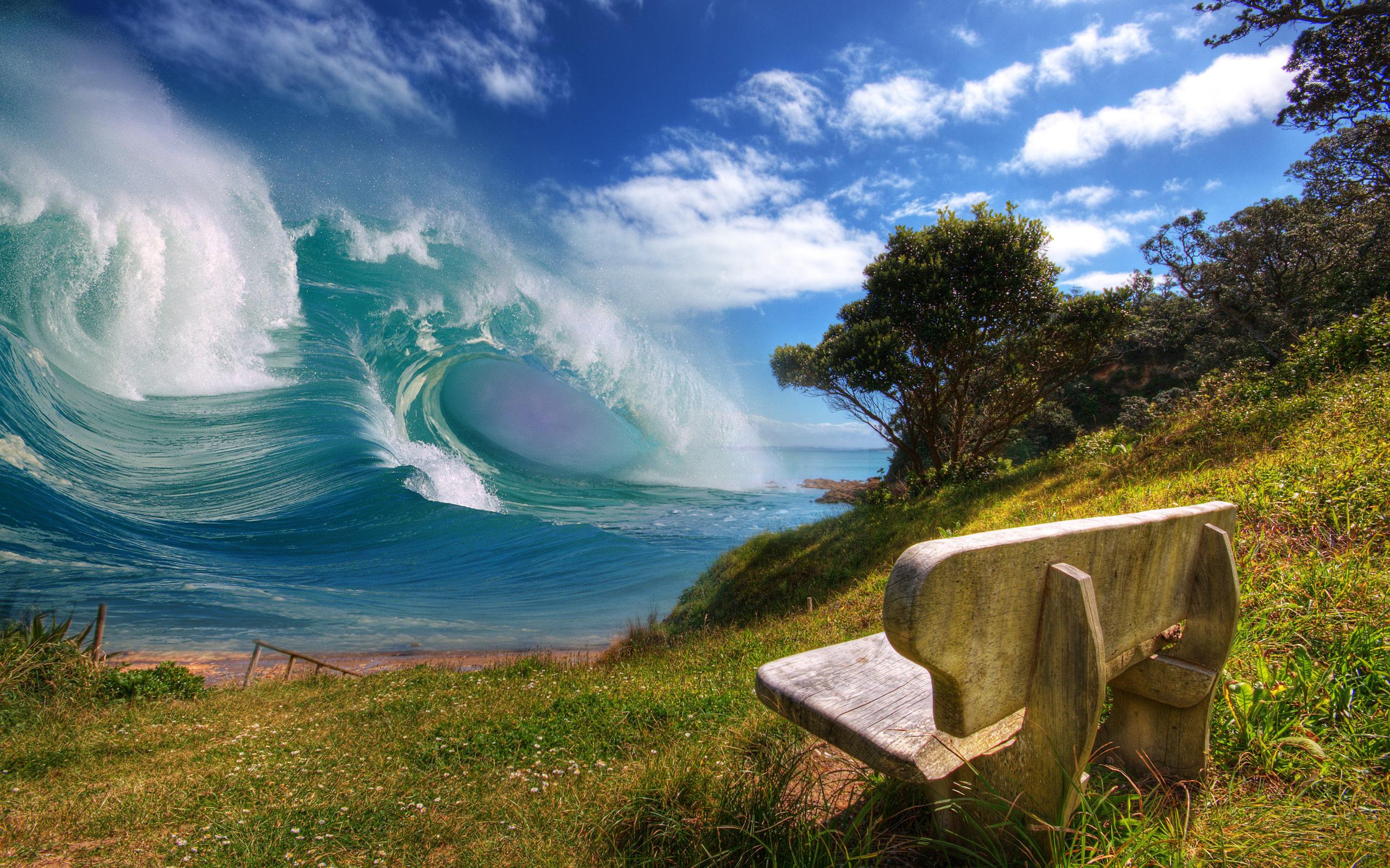 CGI - Natuur  Aarde/Natuur Wallpaper