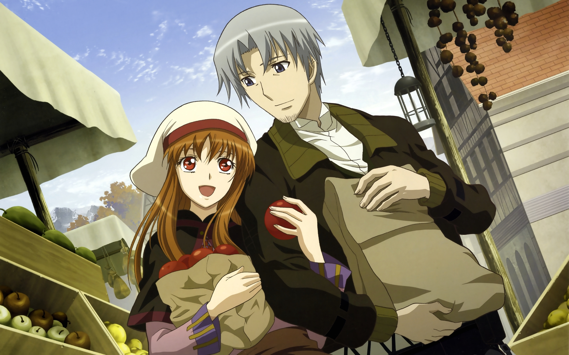 spice and wolf computer wallpapers desktop backgrounds