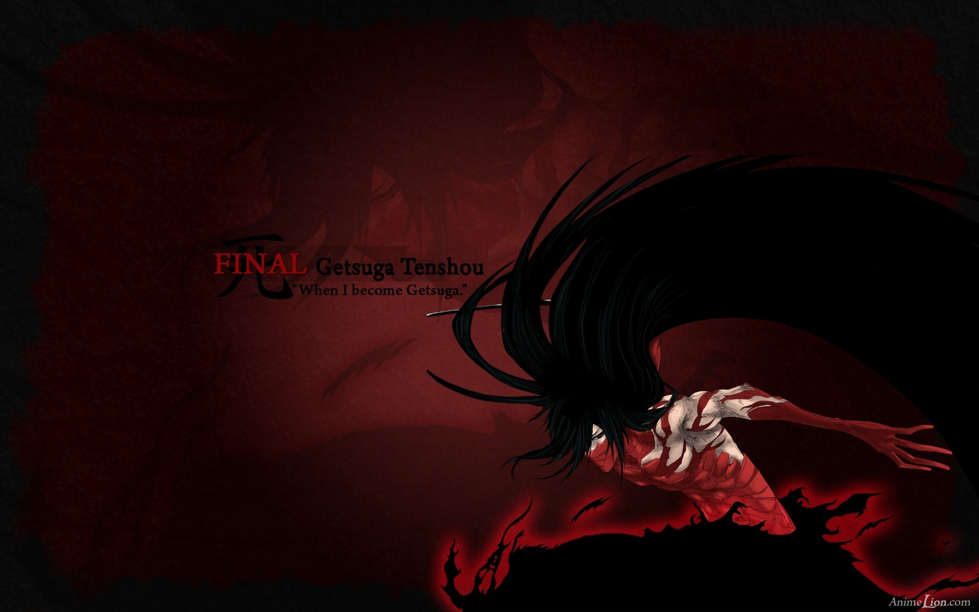Anime - Bleach  - Ichigo - Final Getsuga Tenshou Wallpaper