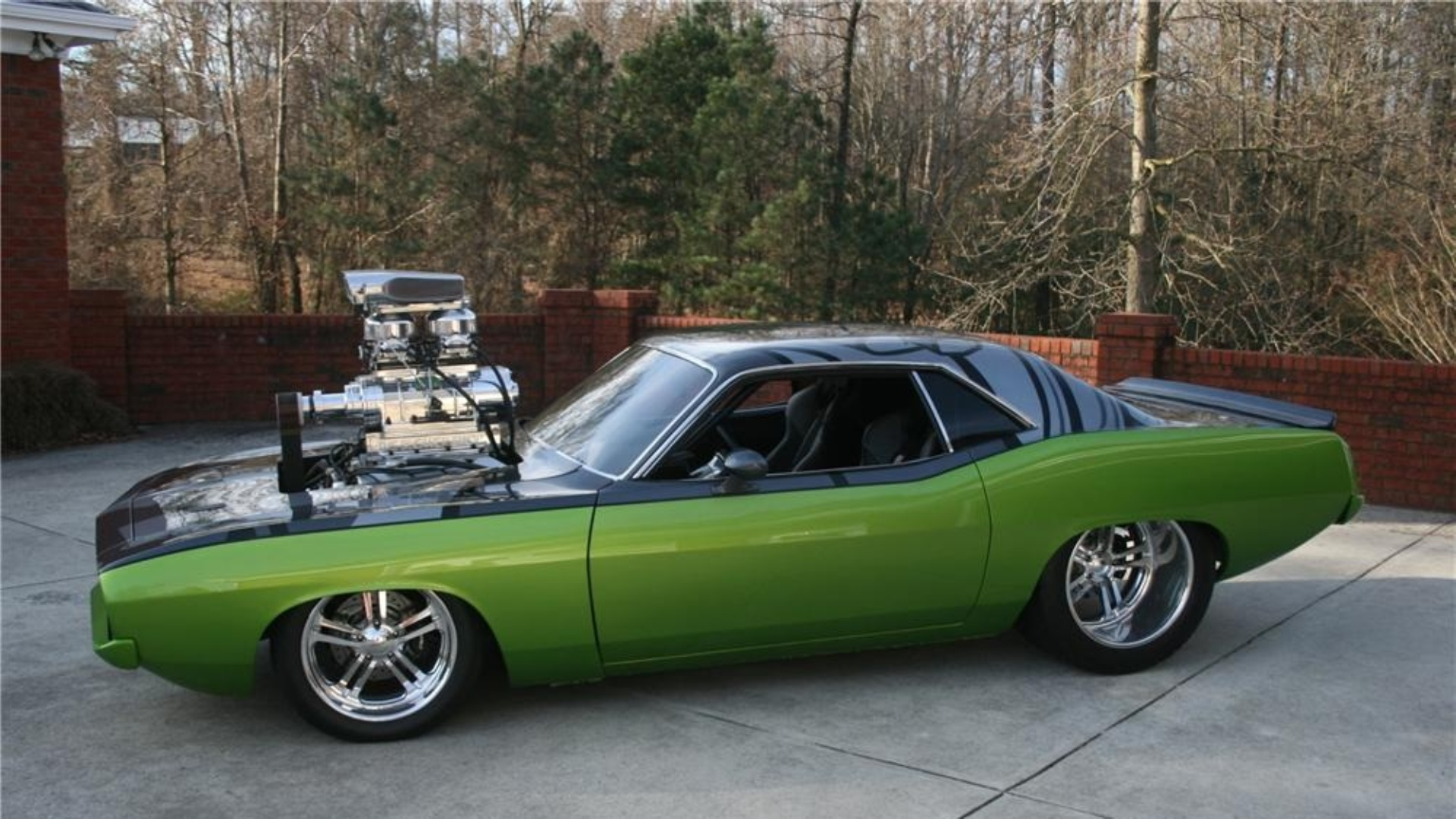 Plymouth Barracuda Full Hd Wallpaper And Hintergrund