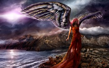 Fantasy - Angel Wallpapers and Backgrounds ID : 114288