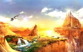 Fantasy - Landschaft Wallpapers and Backgrounds ID : 114814