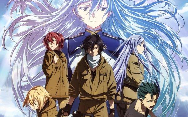 Anime Eighty Six Vladilena Milizé Shinei Nouzen Anju Emma Kurena Kukumira Raiden Shuga Theoto Rikka HD Wallpaper | Background Image