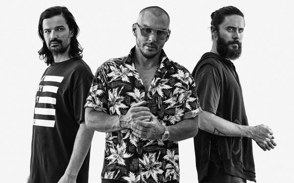 Music Thirty Seconds to Mars Band (Music) United States Jared Leto HD Wallpaper | Background Image