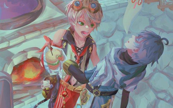 Video Game Genshin Impact Bennett Chongyun Goggles HD Wallpaper | Background Image