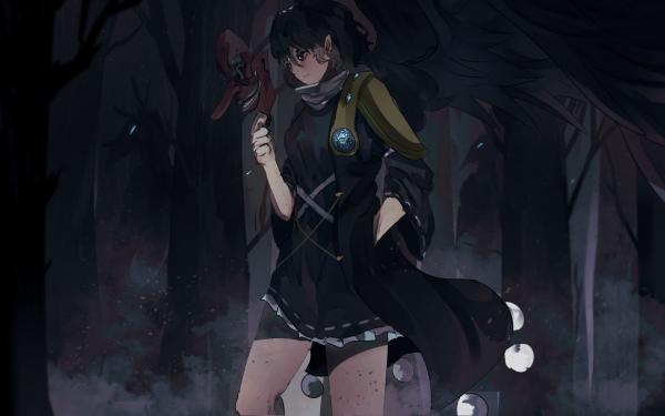 Anime Touhou Megumu Iizunamaru HD Wallpaper | Background Image