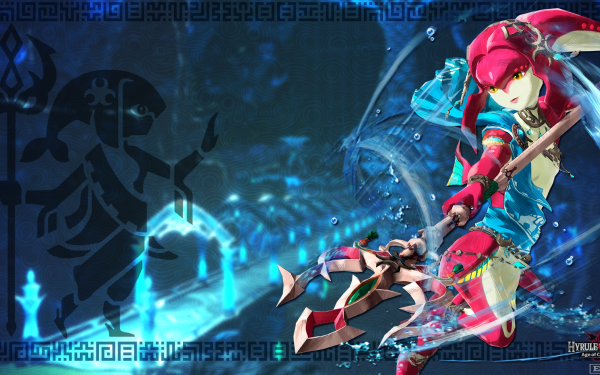 Video Game Hyrule Warriors: Age of Calamity Mipha HD Wallpaper | Background Image