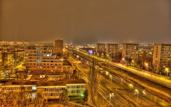 Photography HDR City Iasi Bahlui HD Wallpaper | Background Image