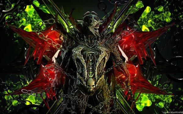 Video Game Mortal Kombat Spawn HD Wallpaper   Background Image