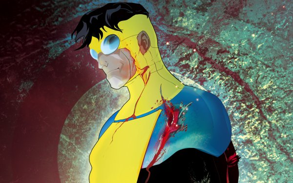 TV Show Invincible Mark Grayson Blood Black Hair HD Wallpaper | Background Image