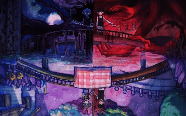 Video Game OMORI Omori Basil Boy Bridge Hand Sunny HD Wallpaper | Background Image