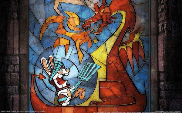Video Game Rayman Raving Rabbids Rayman Rabbids HD Wallpaper   Background Image