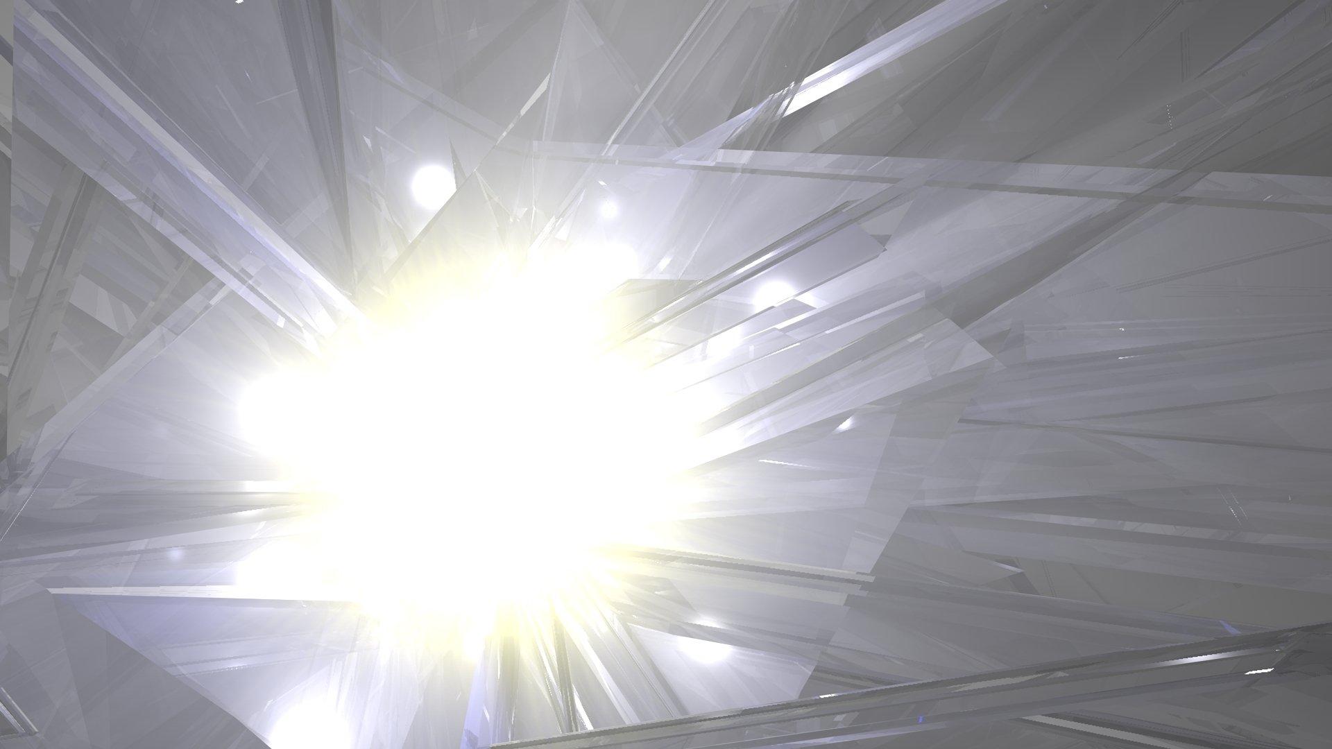Abstrakt - Künstlerisch  Licht Crystal Wallpaper