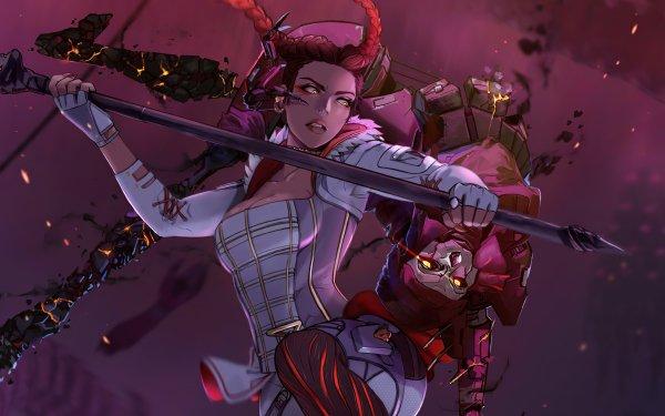 Video Game Apex Legends Revenant Loba HD Wallpaper | Background Image