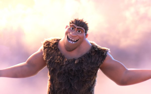 Movie The Croods: A New Age Grug HD Wallpaper | Background Image