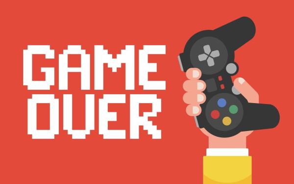 Videojuego Game Over Controller Fondo de pantalla HD | Fondo de Escritorio