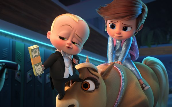 Movie The Boss Baby: Family Business Tim Templeton Boss Baby Theodore Templeton HD Wallpaper | Background Image