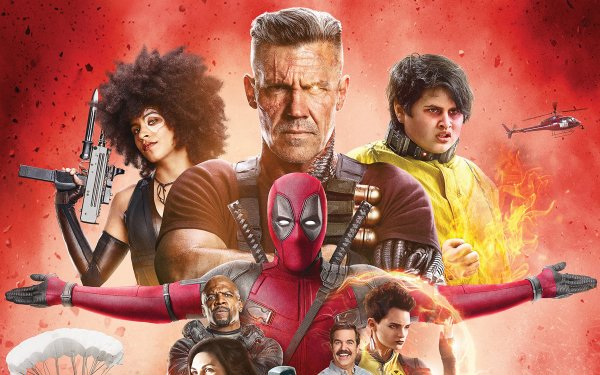 Movie Deadpool 2 Deadpool Cable Domino Negasonic Teenage Warhead HD Wallpaper | Background Image