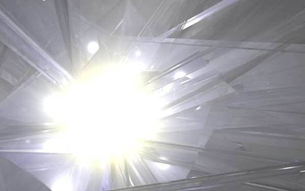 Abstract Artistic Light Crystal HD Wallpaper   Background Image