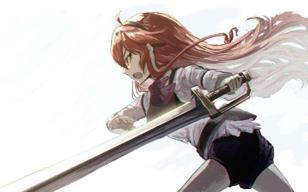 Anime Mushoku Tensei: Jobless Reincarnation Eris Boreas Greyrat HD Wallpaper   Background Image