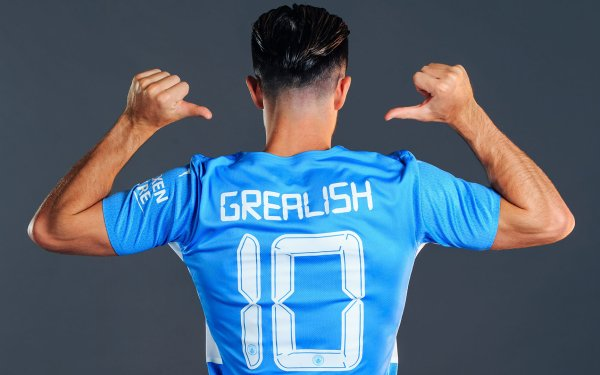 Sports Jack Grealish Soccer Player Manchester City F.C. HD Wallpaper | Background Image