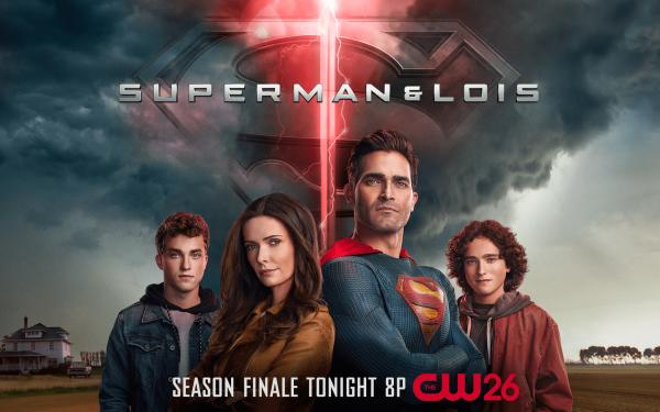 TV Show Superman and Lois Superman Lois Lane Jordan Kent Jonathan Kent HD Wallpaper   Background Image