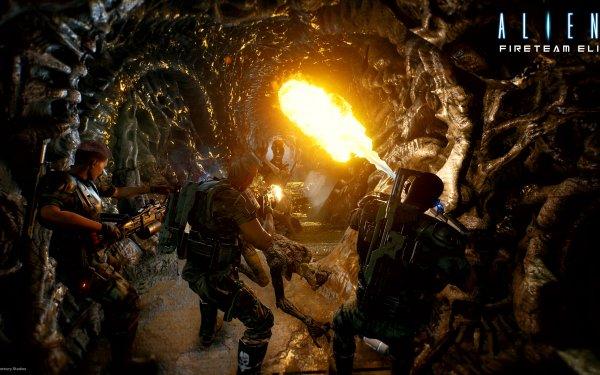 Video Game Aliens: Fireteam Elite HD Wallpaper | Background Image