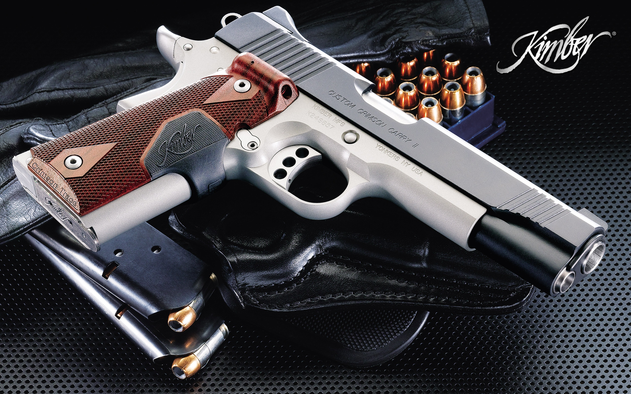 Kimber Pistol Full HD Wallpaper And Background Image