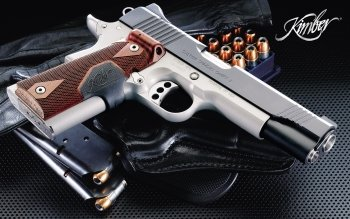 Weapons - Kimber Pistol Wallpapers and Backgrounds ID : 117426