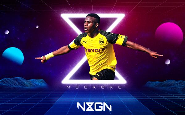 Sports Youssoufa Moukoko Borussia Dortmund HD Wallpaper | Background Image