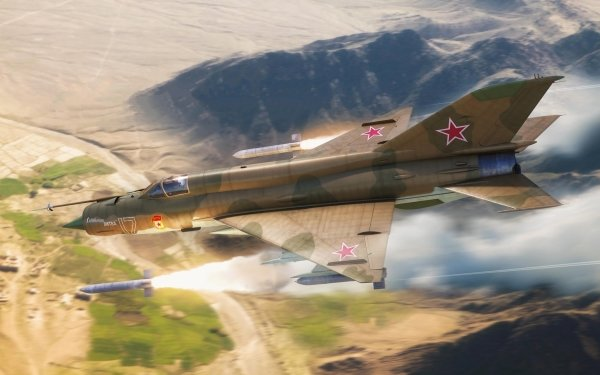 Military Mikoyan-Gurevich MiG-21 Jet Fighters Jet Fighter Warplane HD Wallpaper   Background Image
