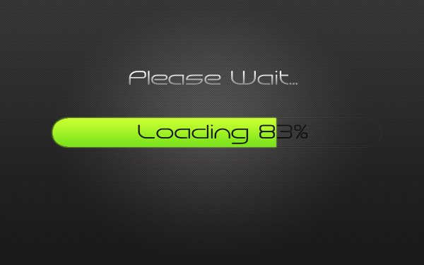 Technology Artistic Loading HD Wallpaper   Background Image