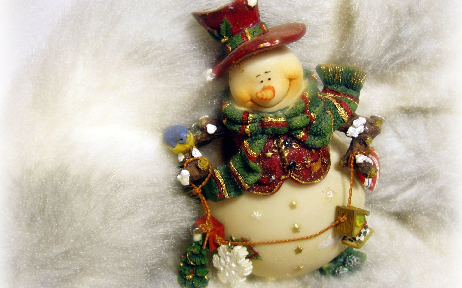 Photography - Snowman  Wallpaper