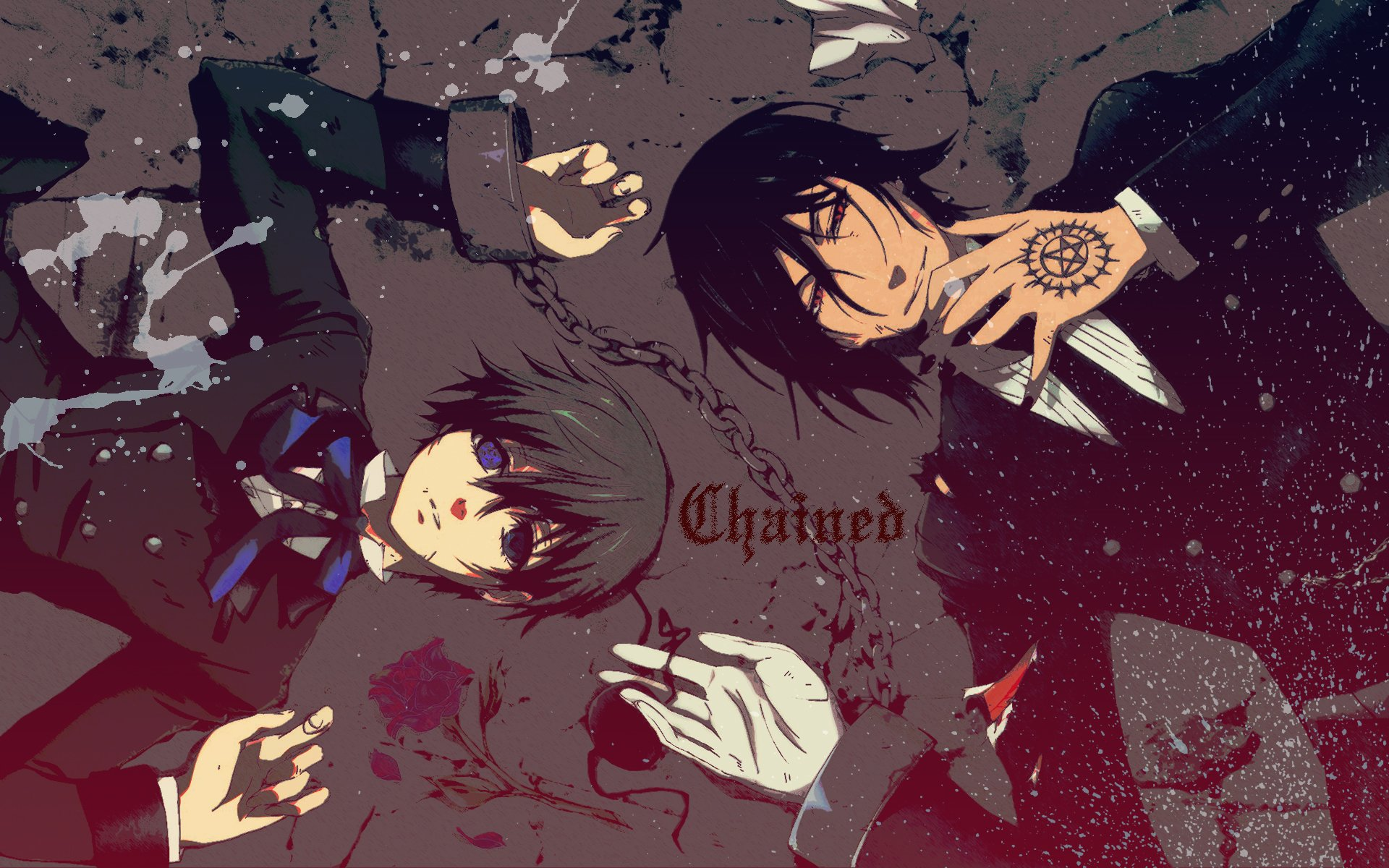 229 Black Butler HD Wallpapers | Backgrounds - Wallpaper Abyss