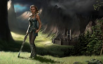 Fantasy - Women Warrior Wallpapers and Backgrounds ID : 118696
