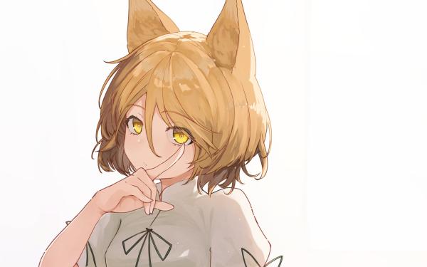 Anime Touhou Tsukasa Kudamaki Animal Ears HD Wallpaper | Background Image