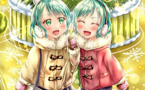 Anime BanG Dream! Girls Band Party! Hina Hikawa Sayo Hikawa HD Wallpaper | Background Image