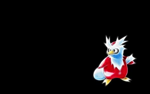 Anime Pokémon Delibird Ice Pokémon Flying Pokémon HD Wallpaper | Background Image