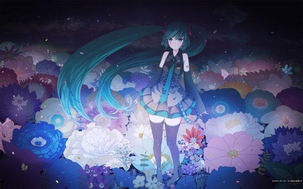 Anime Vocaloid Hatsune Miku Girl HD Wallpaper | Background Image