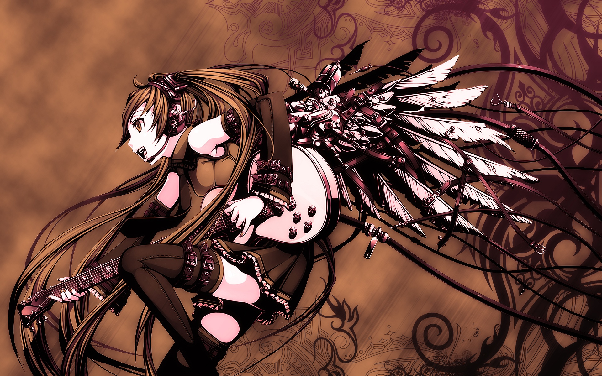 Vocaloid hd wallpaper hintergrund 1920x1200 id - Www wallpaper anime ...