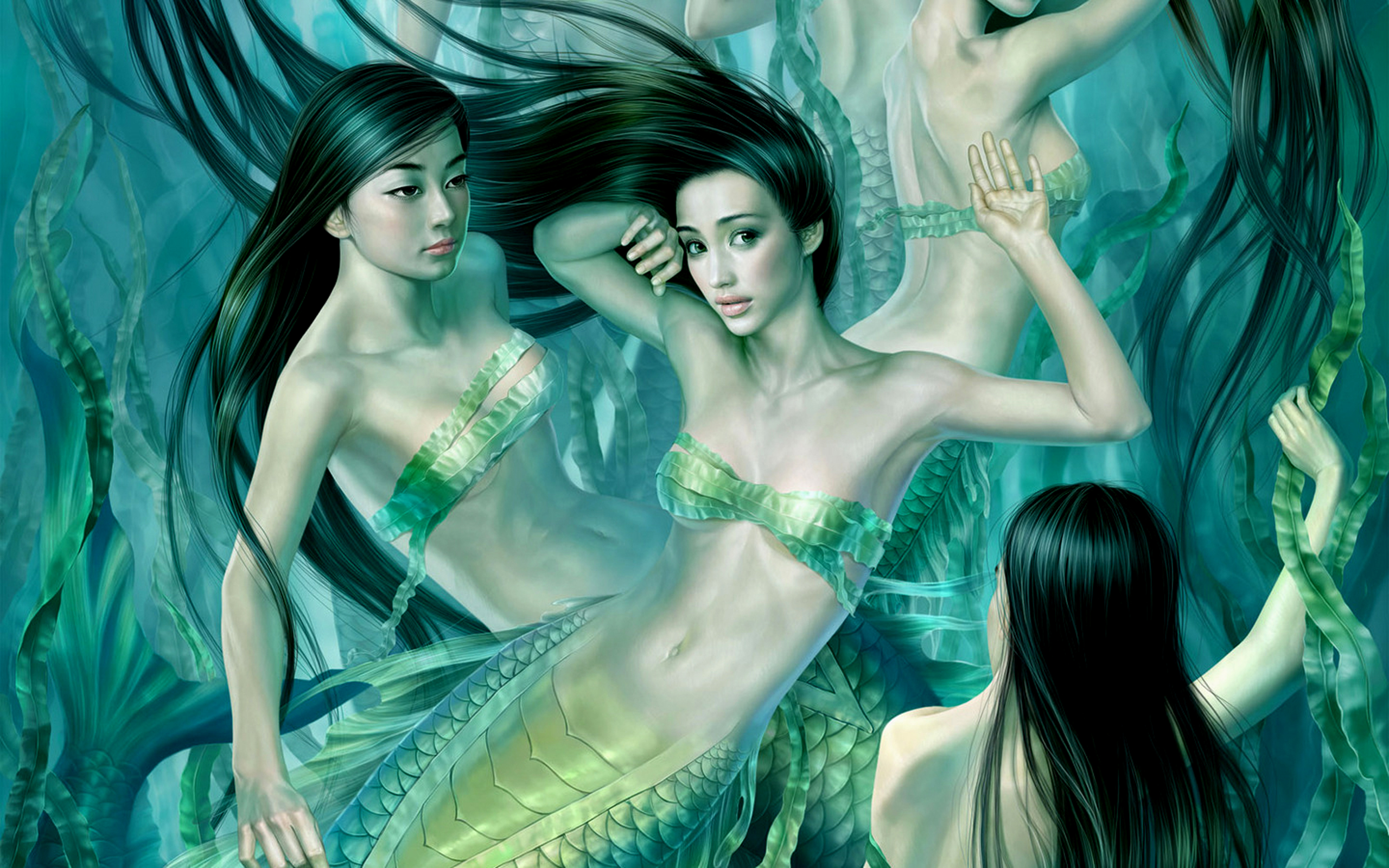 Fantasy - Mermaid Wallpaper
