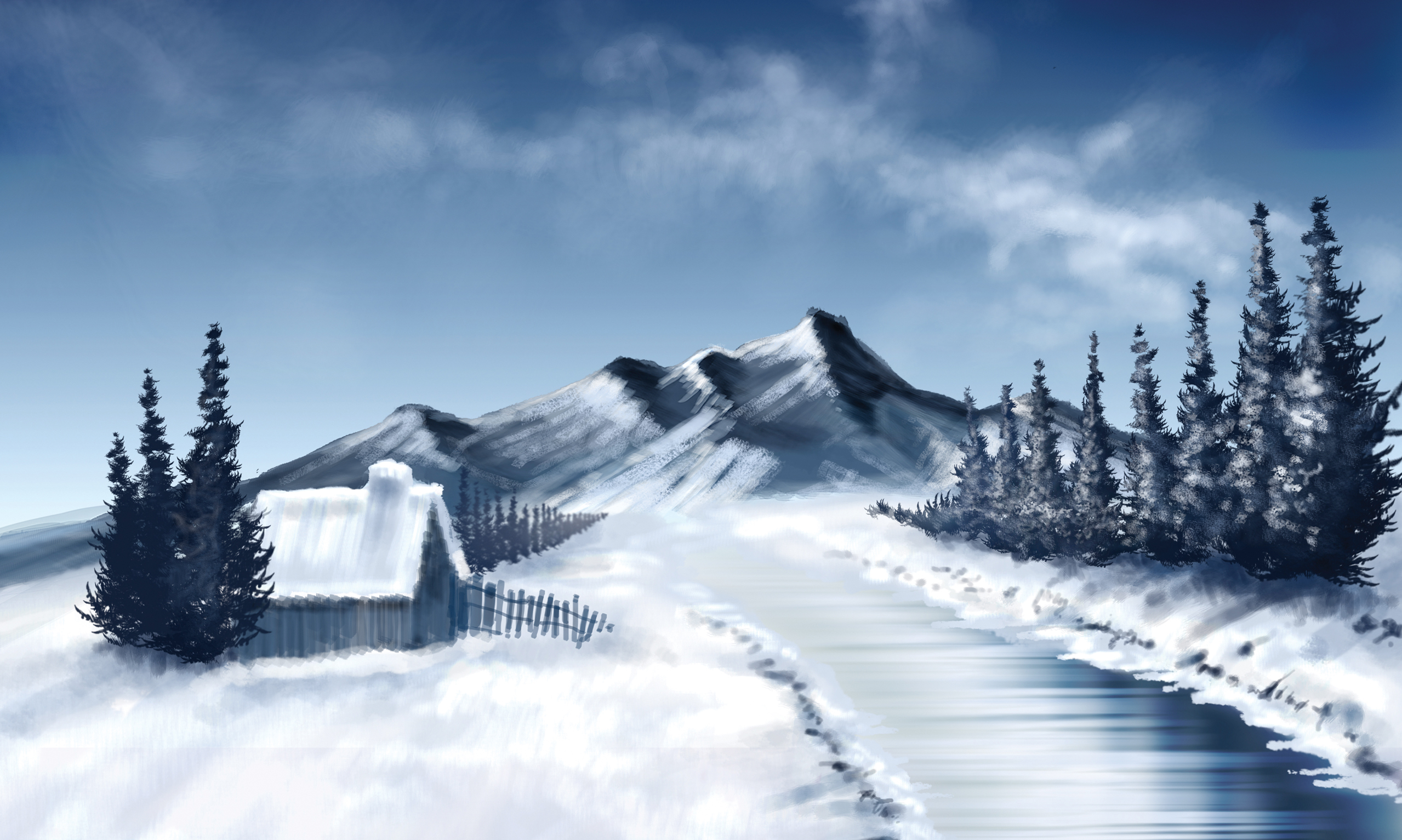 Artistic - Winter  Wallpaper