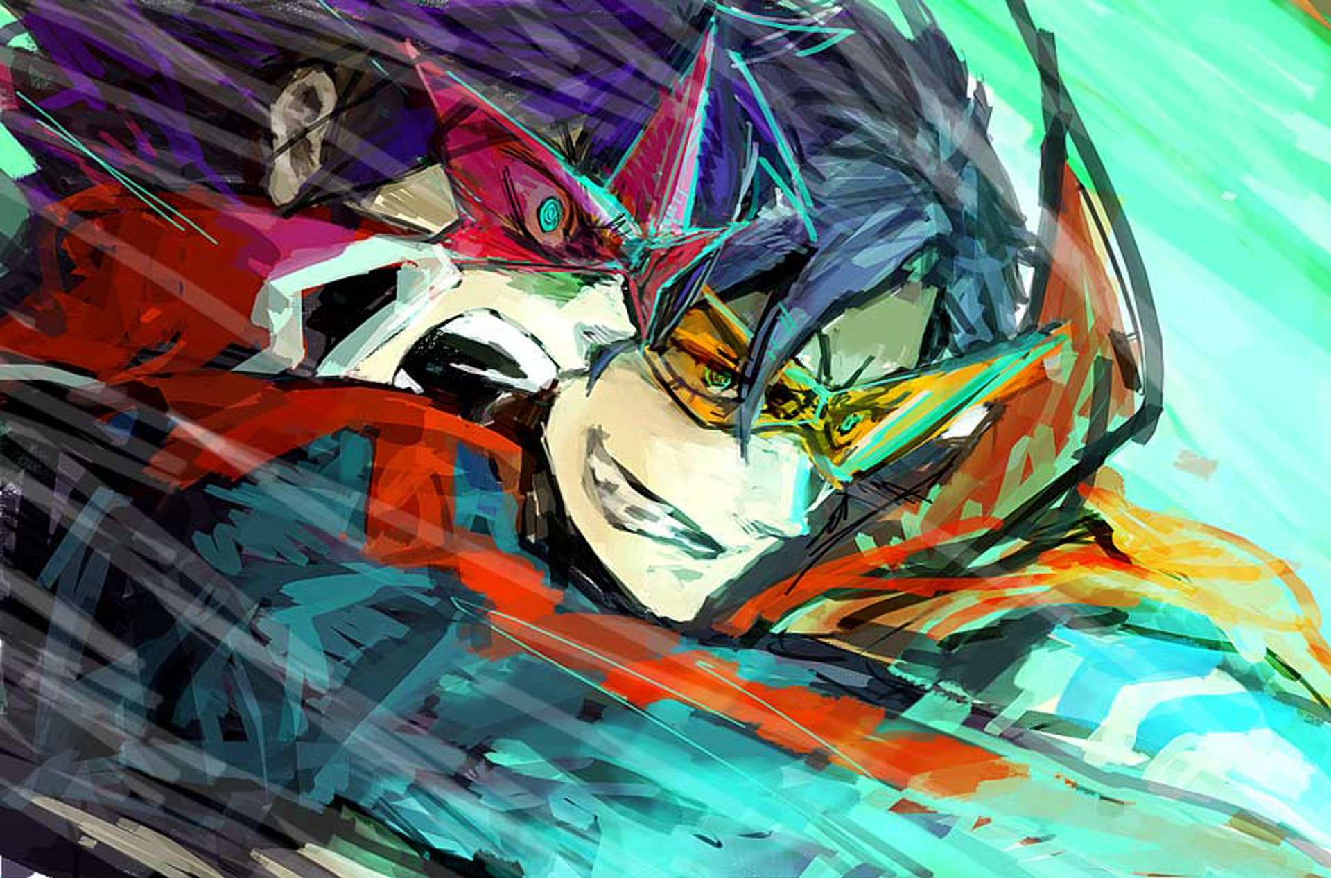 Tengen toppa gurren lagann full hd wallpaper and - Gurren lagann wallpaper ...