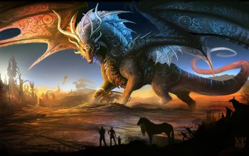 Fantasy - Dragon Wallpapers and Backgrounds ID : 122318