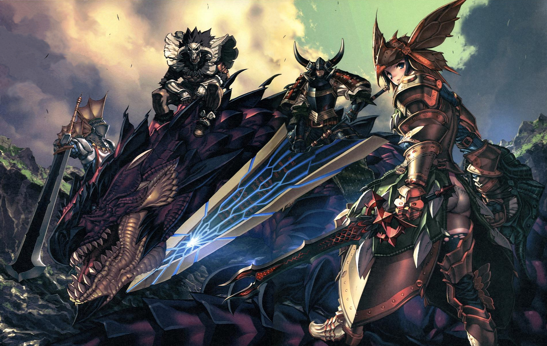 123 monster hunter hd wallpapers backgrounds wallpaper