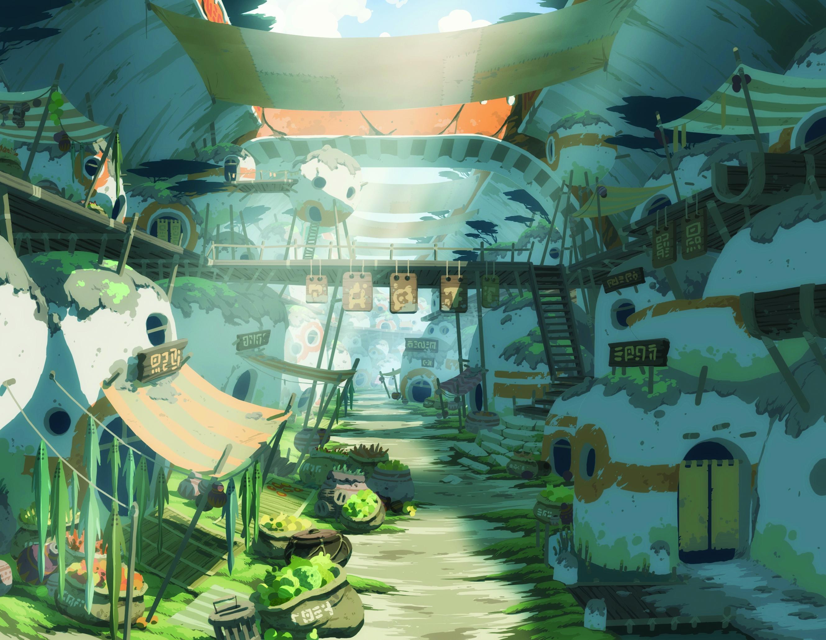 Anime City Landscape Anime - city wallpaper
