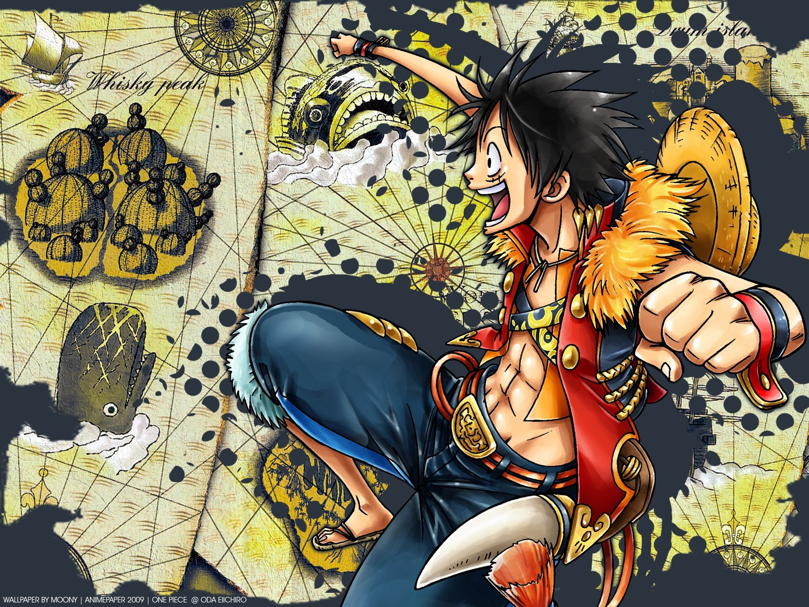 One Piece Map Fondo De Pantalla And Fondo De Escritorio